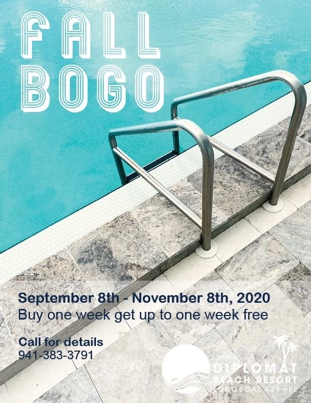 Fall BOGO Deal Banner